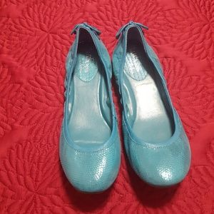 Cole Haan Turquoise Nike Air Ballet Flats